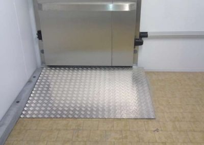Access Ramp for Raised Floor