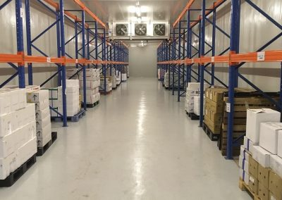 Freezer Room With Racking